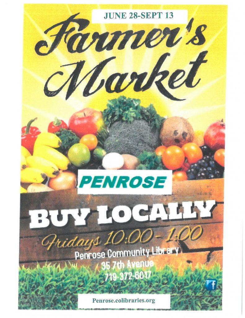Farmer's Market – Penrose Community Library District